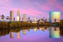 Indianapolis, Indiana, usa zdjęcie royalty free