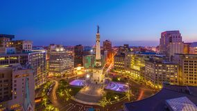 Indianapolis, Indiana, USA Cityscape stock video footage