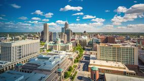 Indianapolis, Indiana, USA stock video footage