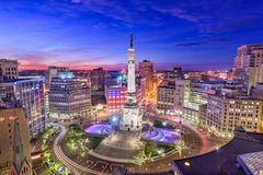 Indianapolis, Indiana, USA stock photography