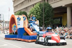 Indy 500 Parade 2018 stock images