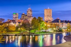 Indianapolis, Indiana, USA royalty free stock photography