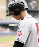 Indianapolis Indians Alex Presley Royalty Free Stock Photography