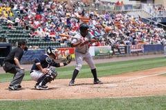 Indianapolis Indians Andy Marte. Third baseman Stock Photo