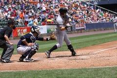 Indianapolis Indians Matt Hague. First baseman Royalty Free Stock Photography