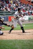 Indianapolis Indians Matt Hague Stock Photo