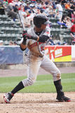 Indianapolis Indians outfielder Gorkys Hernandez. Swings Royalty Free Stock Photo