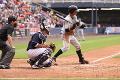 Indianapolis Indians outfielder Gorkys Hernandez Stock Image