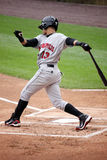 Indianapolis Indians outfielder Gorkys Hernandez Royalty Free Stock Image