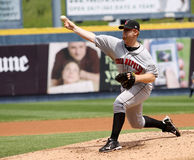Indianapolis Indians pitcher Blaine Boyer Royalty Free Stock Image