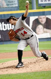 Indianapolis Indians pitcher Daniel Moskos Royalty Free Stock Photo