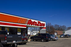 Indianapolis - March 2016: AutoZone Retail Store I. Indianapolis - Circa March 2016: AutoZone Retail Store. AutoZone is a Retailer and Distributor of Automotive stock photography