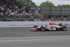 INDIANAPOLIS, IN - MAY 25: Indy car driver Mario Moraes is running in the Indy 500 race May 25, 2008 in Indianapolis, IN Stock Images