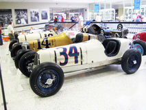 Vintage Race Cars Royalty Free Stock Photos