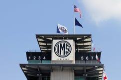 Indianapolis Motor Speedway pagod Royaltyfri Bild