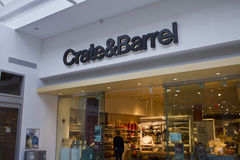 INDIANAPOLIS - OCTOBER 2015: Crate & Barrel Retail Store in Indianapolis III. INDIANAPOLIS - CIRCA OCTOBER 2015: Crate & Barrel Retail Store in Indianapolis III royalty free stock photo