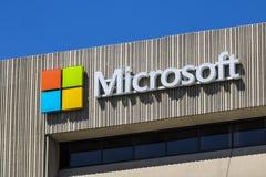 Indianapolis - Około Czerwiec 2017: Microsoft Środkowy Zachód okręgu kwatery główne Microsoft rozwija Windows VIII i Nawierzchnio Obrazy Stock