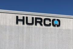 Indianapolis - Około Lipiec 2017: Hurco firm kwatery główne Hurco zapewnia oprogramowanie i CNC kontroluje I Obrazy Stock