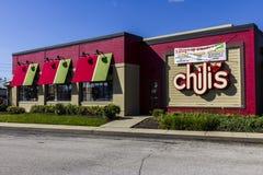 Indianapolis - Około Październik 2016: Chili grill III & Prętowa Przypadkowa Łomota restauracja Zdjęcie Royalty Free