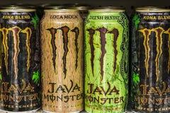 Indianapolis - Około Sierpień 2016: Potwora napoju pokaz Potwór Korporacja fabrykuje energię II Zdjęcia Stock