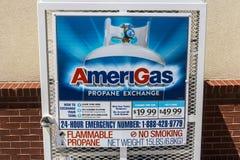 Indianapolis - Około Czerwiec 2017: AmeriGas Wekslowa stacja III Zdjęcie Royalty Free