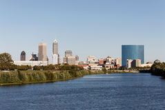 Indianapolis Skyline Stock Images