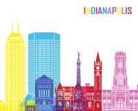Indianapolis skyline pop Royalty Free Stock Photos