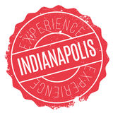 Indianapolis stamp rubber grunge Stock Image