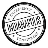 Indianapolis stamp rubber grunge Royalty Free Stock Image