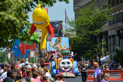 Indianapolis 500 street parade 2014 Stock Image