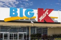 Indianapolis - vers en juin 2017 : Emplacement de vente au détail de Kmart Beaucoup de magasins de Kmart se ferment pour amener l Image stock