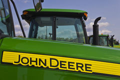 Indianapolis - vers en mai 2016 : John Deere Rural Dealership II Photographie stock libre de droits