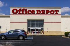 Indianapolis - vers en septembre 2017 : Emplacement de devis d'Office Depot Office Depot a combiné des ventes annuelles de $11 mi Image stock