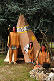 Indiani americani Fotografia Stock Libera da Diritti