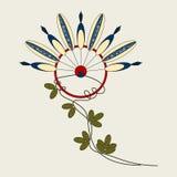 Indiani del fiore Fotografia Stock Libera da Diritti