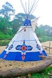 Indiani della tenda. Immagine Stock