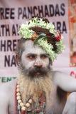 Indianin Sadhu Fotografia Stock