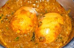 Indianina jajka curry Zdjęcia Royalty Free