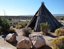 Indianina namiot Zdjęcie Royalty Free