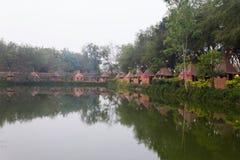 Indianina obóz Zdjęcie Royalty Free