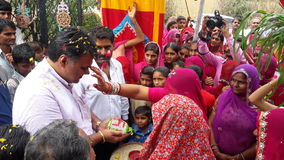 Indianina powitanie Zdjęcie Royalty Free