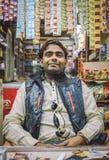 Indianina sklepowy sprzedawca Zdjęcia Stock