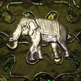 Indianina Srebny słoń Zdjęcia Stock