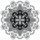 Indianina wzór otaczający z kierowymi elementami Fotografia Royalty Free