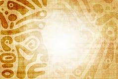 Indianische traditionelle Muster Stockbild