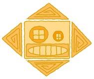 Indianisches Sonnesymbol Stockfoto