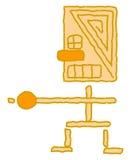 Indianisches Symbol Lizenzfreie Stockbilder