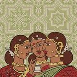 Indianki1 ilustración del vector