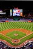 Indiankrigare för MLB Atlanta - från High över Arkivfoto