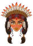Indiano americano Imagens de Stock Royalty Free